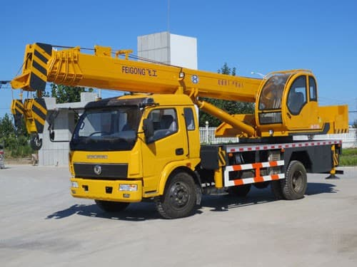 Different Boom Truck Sizes And Capacities - SYMMEN
