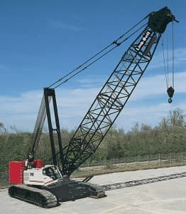 Hydraulic Lattice Boom Crawler Crane