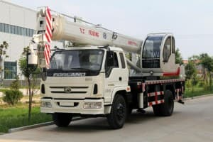 Boom Truck Crane Specification